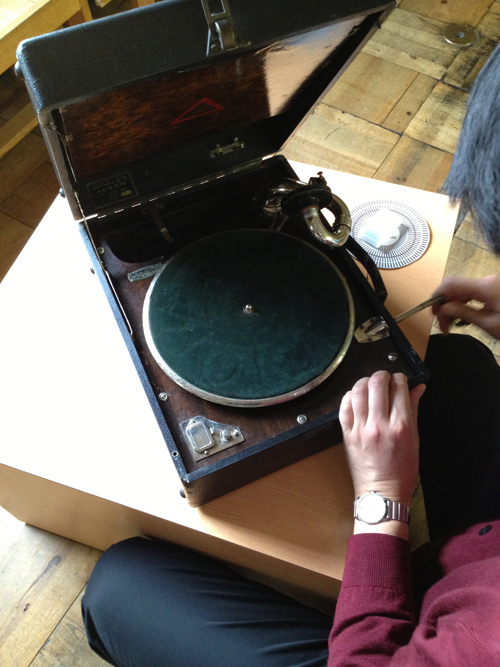 蓄音機コンサート 体験