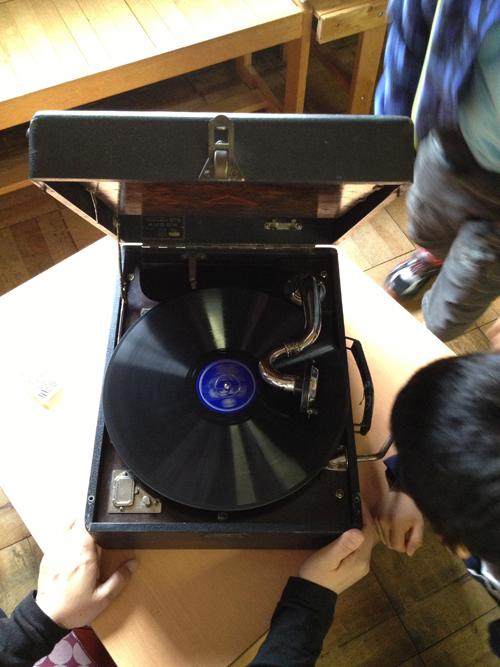 蓄音機コンサート 体験2