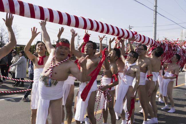 裸祭り儺追笹 下之一色町