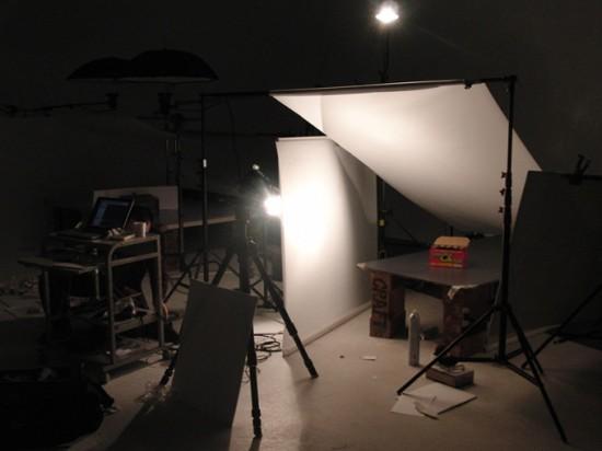 スタジオ点景