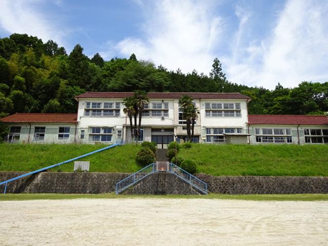 大湫小学校校舎