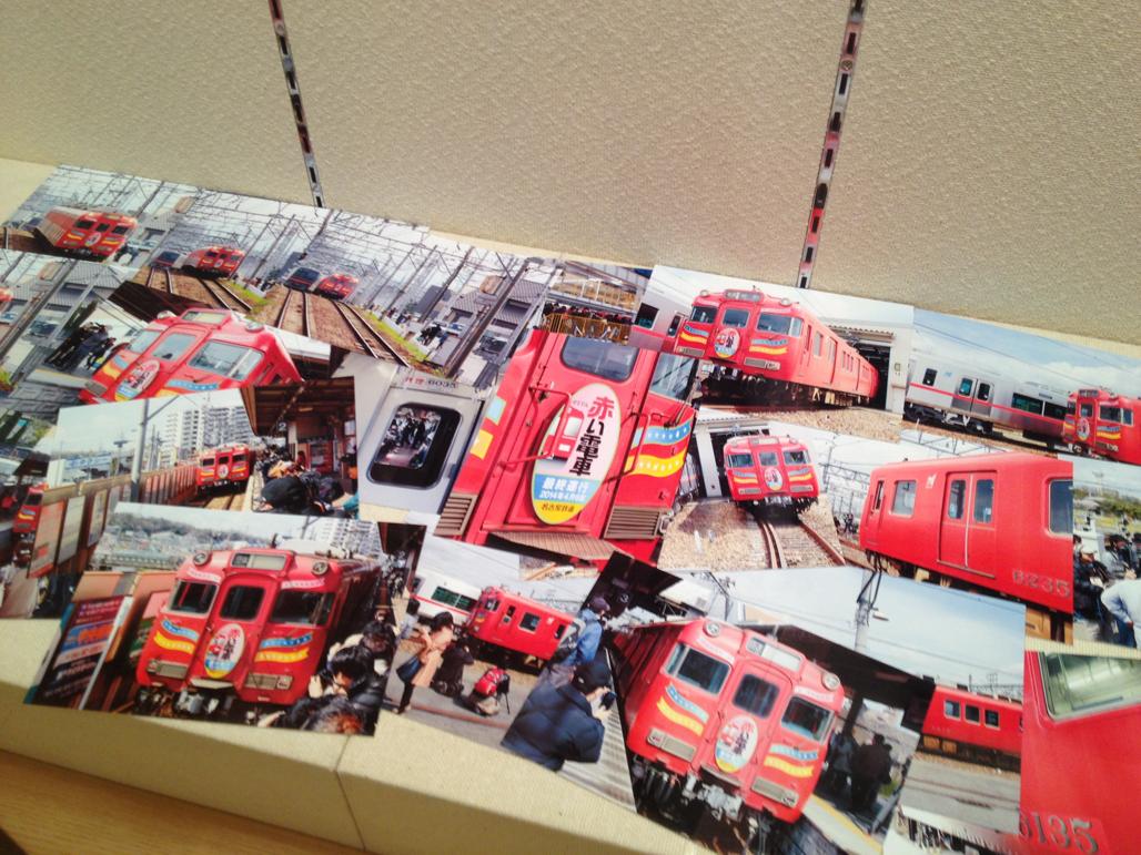 せとでん展/赤い電車