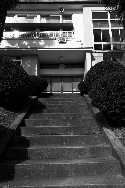 大湫小学校 玄関