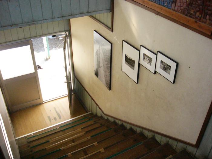 川上分校 階段2