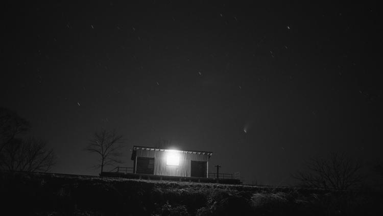 最後の夜 坪川駅