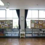 高学年教室の展示